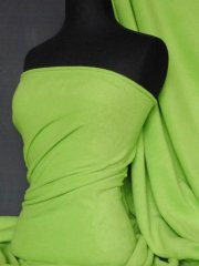 Polar Fleece Anti Pill Washable Soft Fabric- Lime Green PF LMGR