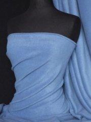 Polar Fleece Anti Pill Washable Soft Fabric- Denim Blue PF DNBL