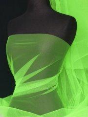 Tutu Fancy Dress Net Material- Flo Green Q174 FGR