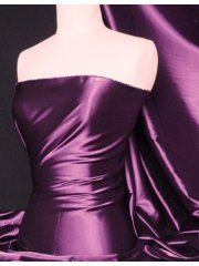 Super Soft Satin Stretch Fabric- Purple Q710 PPL
