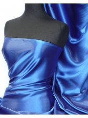 Satin Medium Weight Fabric- Royal Blue Q243 RBL