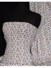 Cotton Lycra Jersey 4 Way Stretch Fabric - Boat Q969 MLT