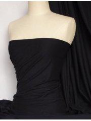 Cotton Lycra Jersey 4 Way Stretch Fabric - Midnight Navy Q35 MNY