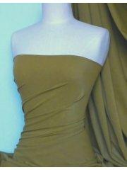 Tarragon Glory Matt Lycra 4 Way Stretch Fabric Material