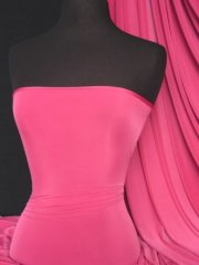 Silk Touch 4 Way Stretch Lycra Fabric- Cerise Pink Q53 CRS