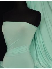 Silk Touch 4 Way Stretch Lycra Fabric- Minty Blue Q53 MNTBL