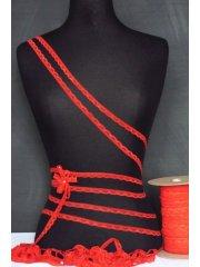 3 Metres Crimson Red Lingerie Elastic Trimming