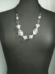 Gem Necklace- Crystal EM177 CSTL