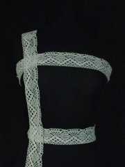 Ivory Cotton Crochet Trim