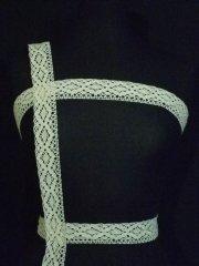 Ivory Cotton Crochet Trim