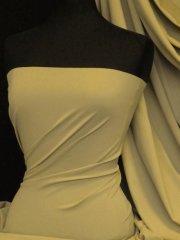 Matt Lycra 4 Way Stretch Fabric- Sand Q56 SND