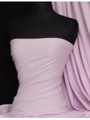 Soft Fine Rib 100% Cotton Knit Material- Pinky Lilac Q61 PNLIL