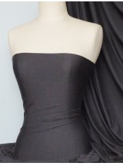 Heavy Viscose Cotton Stretch Lycra Fabric- Platinum Grey Q896 PLTGR