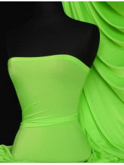 Shiny Lycra 4 Way Stretch Material- Parrot Green Q54 PGRN