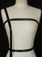 Black Satin Ribbon Trim