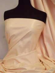 PV122 Leatherette Semi Wet Look Stretch Material- Peach Q1168 PCH
