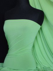 Silk Touch 4 Way Stretch Lycra Fabric- Soft Mint Q53 SMNT