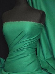 100% Cotton Light Weight Sheeting Fabric (150cm)- Veronese Green Q1275 VGRN