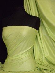 100% Cotton Light Weight Sheeting Fabric (150cm)- Lime Green Q1275 LMGRN