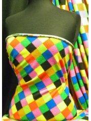 Polar Fleece Anti Pill Washable Soft Fabric- Elmer One Q1284 MLT1