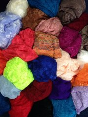 5KG Lace Offcuts/Remnants Joblot Assorted Bundle- Multi