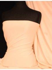 Marcy 4 Way Stretch Poly Lycra Fabric- Peach Q1336 PCH