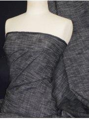 Denim blue black Stretch 98% Cotton Fabric 160cm