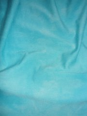 Light Turquoise Tie Dye Viscose Cotton Stretch Fabric