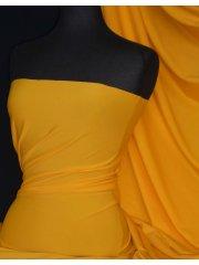Matt Lycra 4 Way Stretch Fabric- Sunflower Yellow Q56 SYL