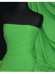 Matt Lycra 4 Way Stretch Fabric- Kelly Green Q56 KGR