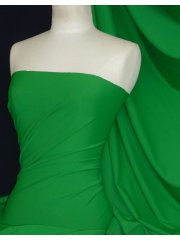 Matt Lycra 4 Way Stretch Fabric- Emerald Green Q56 EMGR
