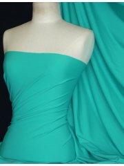 Matt Lycra 4 Way Stretch Fabric- Esmeral Blue Q56 EBL