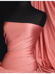 Shiny Lycra 4 Way Stretch Material- Dusky Pink Q54 DPN