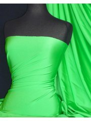 Shiny Lycra 4 Way Stretch Material- Kelly Green Q54 KGR