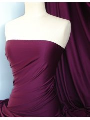 Slight Seconds Grape Tactel 4 Way Stretch Jersey Lycra Fabric 36TKGRP
