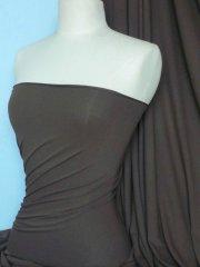 Crepe 4 Way Stretch Jersey Fabric- Khaki Q263 KH