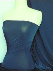 Diabolo Shiny Lycra 4 Way Stretch Fabric- Denim Blue Q262 DNBL