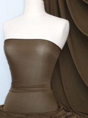 Diabolo Shimmer 4 Way Stretch Fabric- Dark Khaki 42TQ