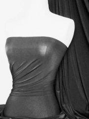Diabolo Shiny Lycra 4 Way Stretch Fabric- Platinum Grey Q262 PTGR