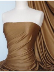 Suedette Stretch Fabric Material- Camel Q503 CML