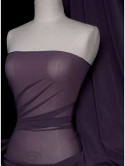 Corsetry Power Mesh/ Net Material- Raisin Purple Q107 RSN