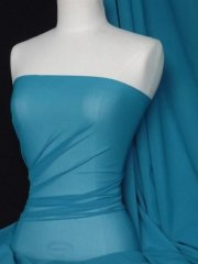 Corsetry Power Mesh/ Net Material - Teal Q107 TL