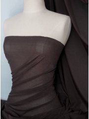 Corsetry Power Mesh/ Net Material - Chocolate Brown Q107 CHOC
