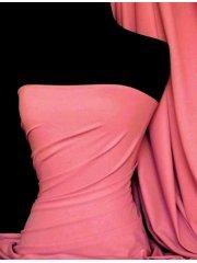 Clearance Matt Lycra 4 Way Stretch Lightweight Fabric- Barbie Pink SQ66 BBPN