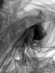 Tutu Fancy Dress Net Material (300cm Width)- Black SQ70 BK