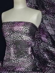 Chiffon Soft Touch Sheer Fabric - Fusion Lights Purple CHF190 PPL