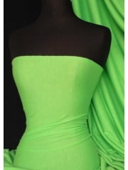 100% Viscose Stretch Fabric Material- Parrot Green 100VSC PRGR