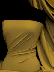 Matt Lycra 4 Way Stretch Fabric- Tarragon Glory Q56 TGR