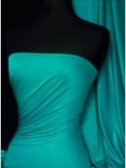 100% Viscose Stretch Fabric Material- Teal Green 100VSC TLGR