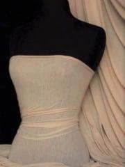 100% Viscose Stretch Fabric Material- Almond 100VSC ALM